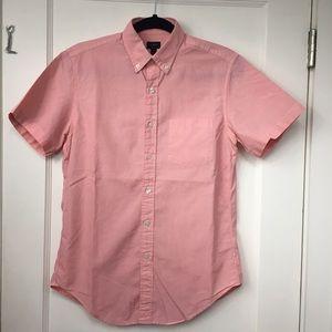 J.Crew orange peach color Shirt Size Small
